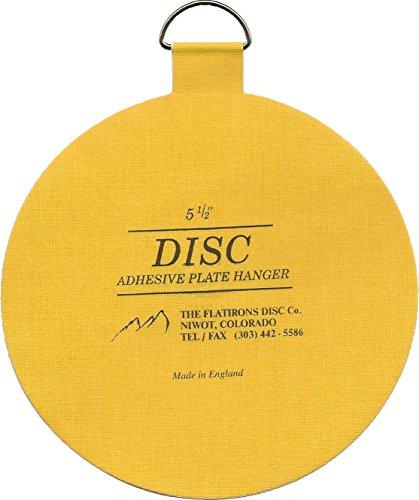 sc 1 st  Solia Flat Iron & Flatirons Disc Adhesive Plate Hanger 5.5-Inch