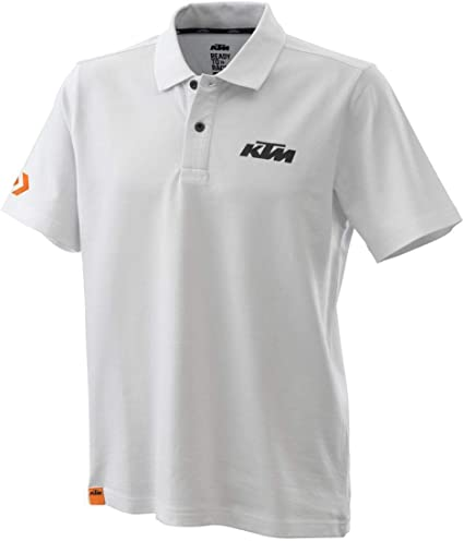 KTM Racing Polo White L Original PowerWear: Amazon.es: Coche y moto