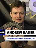 CONtv Insider: Stan Lee's LA Comic Con 2016 - Author Andrew Rader