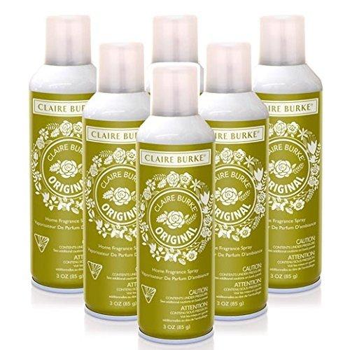 Claire Burke Vapourri Home Fragrance Spray 3 Oz. Box of 6 - Original by Claire Burke