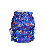 Easy Peasies Reusable Cloth Swim Diaper Nappy One Size Couche a Piscine 6-40 lbs (Emma)