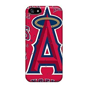 Rosesea Custom Personalized Fashion Cases For Iphone 5 5s- Los Angeles Angels Defender Cases Covers wangjiang maoyi