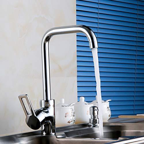 Section a Kitchen Sink Mix Faucet Swan Neck Modern European Style B