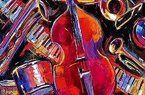 Samexpress Multicolors Solid Wood Portrait 70x90 cm Wall Hang Art - 2724778875773