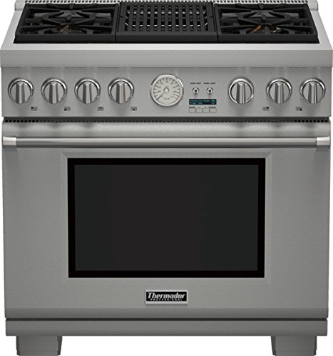 36 Inch Professional Series Pro Grand Commercial Depth All Gas (Commercial Depth Gas Range)