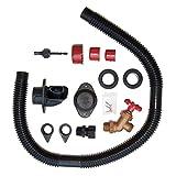EarthMinded DIY Rain Barrel Diverter and Parts Kit + Linking Kit