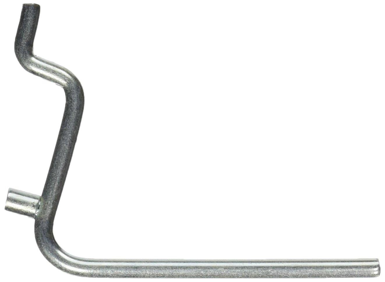 National Hardware N180 001 Straight Hooks 2 1 2 Zinc Plated