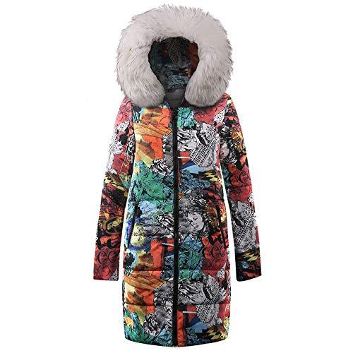 Coat Mujer Talla Chaquetas Sport Ropa Invierno Ashop Blanco Mujer Abrigo Grande Negro 6BTnqv