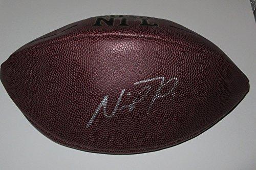 nick foles signed football - 2