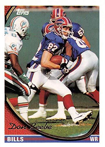 1994 Topps Football Card #262 Don Beebe Buffalo Bills Official NFL Trading Card