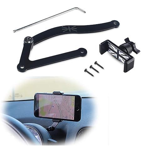 PGONE Behind Tachometer Mount Smart Phone GPS Mounting Design Holder Kit for Mini CooperF54 F55 F56 F57 F60 Union Jack Black /& Grey Union Jack Flag Style