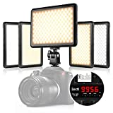 Best Dimmable For DSLR Cameras - Zecti 4-in-1 216 LED Dimmable Video Lighting Review