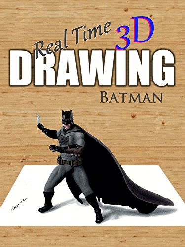 Real Time 3D Drawing Batman by
