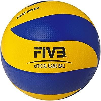 MIKASA MVA-200 Balón de Voleibol, Hombre, Multicolor, 5: Amazon.es ...