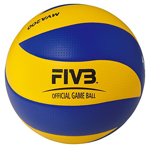 Mikasa MVA 200 Ballon de volley-ball Multicolore Taille 5