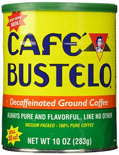 Café Bustelo Decaffeinated Coffee, 10 Ounce (Pack of 12)