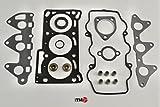 ITM Engine Components 09-10400 Cylinder Head Gasket Set for 1988-1992 Daihatsu 1.0L L3 Charade