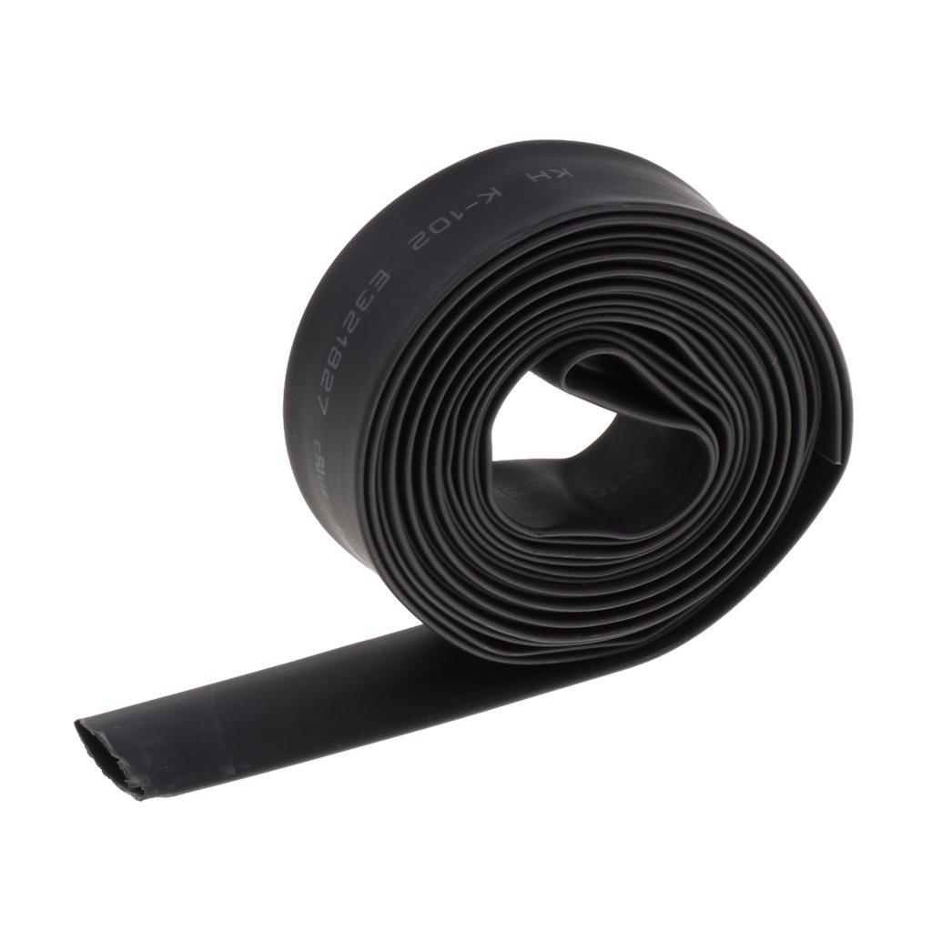 Noir 2m 6mm Shiwaki 2:1 Tube Gaine Thermo-r/étractable Housse de Cable Isolation /Étanche /à leau 5 m/ètres Noire