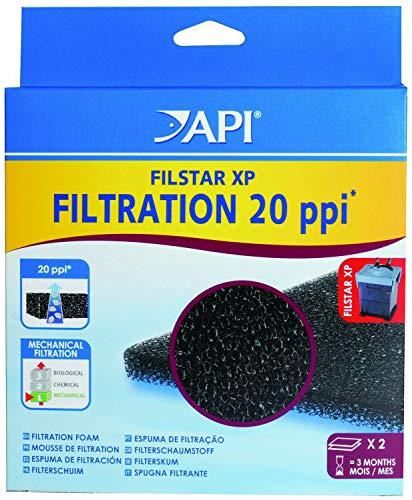 - API Filstar XP Foam 20 ppi, 2 Count, 6 Pack
