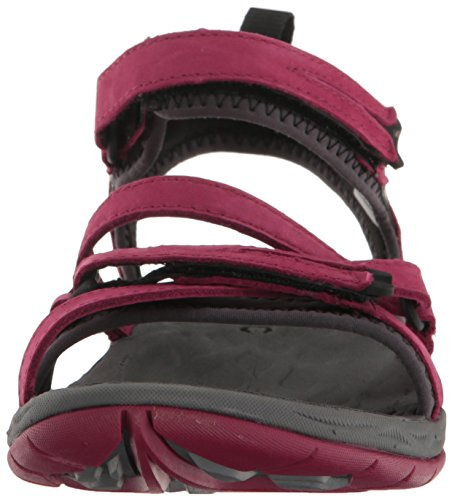 Merrell Womens/Ladies Siren Q2 Strap Waterproof Walking Sandals Beet Red
