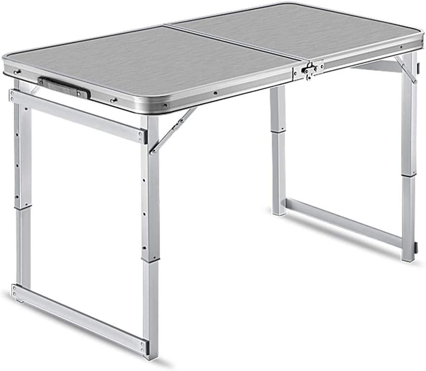 Beveel Korting Aan Tafel Opklapbare Tafel, Met Dubbele Handgreep Outdoor Portable Barbecue Picnic Travel Table, In Hoogte Verstelbaar Picknicktafels (Color : Style2) Style2 AEt2pPE