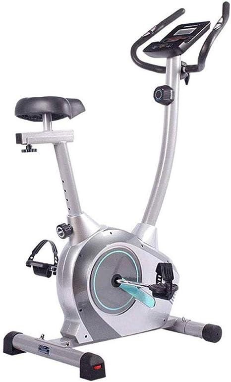 YHSFC Ciclismo Indoor, Plegable Adulto Bicicleta Estática, Monitor ...