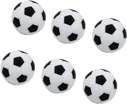 Toygogo 6 Unids Pelotas para Futbolín,32mm, Negro: Amazon.es ...