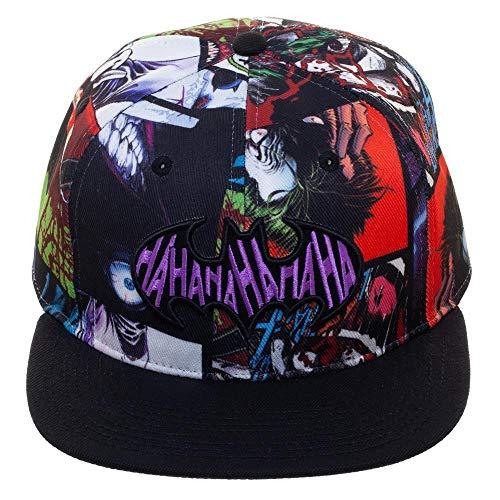 (Bioworld DC Comics The Joker Sublimated Snapback Cap Hat)