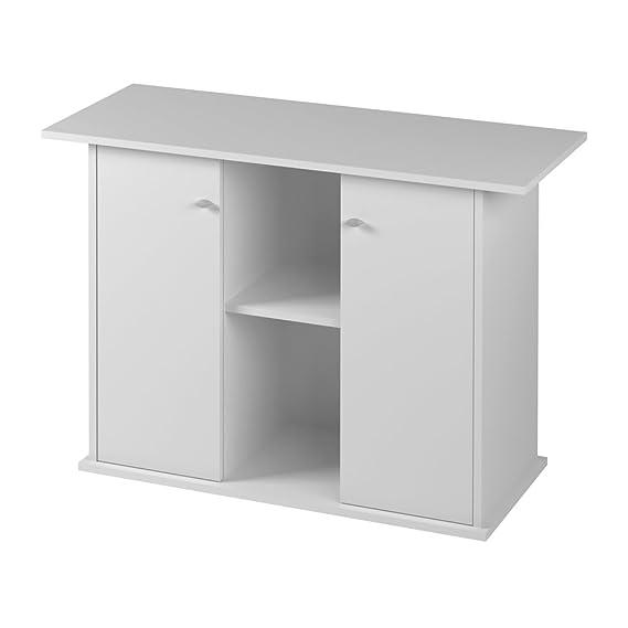 ferplast 66000711 Dubai 100 Acuario Muebles, 101 x 41 x h 73 cm, color blanco: Amazon.es: Productos para mascotas