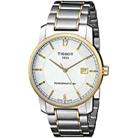 Tissot T-Classic Automatic Silver Dial Two-tone Men's Watch