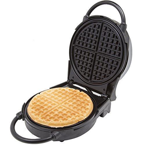 Waffle Maker- Non-stick American Waffler Iron with Adjustable Browning Control- Beeps When Ready by CucinaPro (Image #3)
