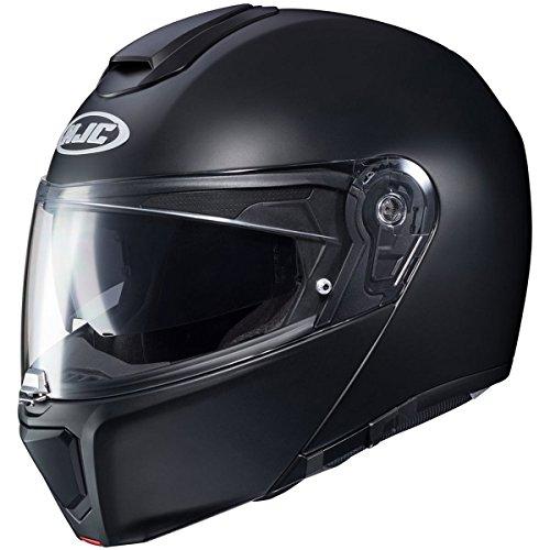 HJC Solid Men's RPHA 90 Modular Street Motorcycle Helmet - Semi Flat Black/Large -