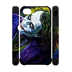 The Batman Joker Why So Serious Image Snap On Hard Plastic Iphone 4 4S Case hjbrhga1544