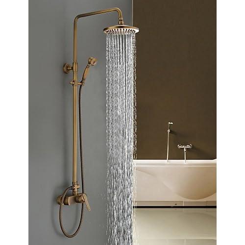 delicate SAEKJJ- by Lightinthebox - Antique Brass Tub Shower Faucet ...