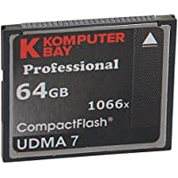 Komputerbay 64GB Professional Compact Flash card 1066X CF Write 155MB/s Read 160MB/s Extreme Speed UDMA 7 RAW