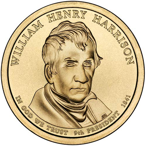 2009 S Proof William Henry Harrison Presidential Dollar Choice Uncirculated US Mint
