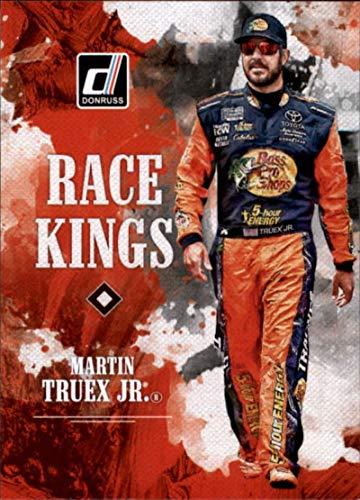 (2019 Donruss Racing #3 Martin Truex Jr. Bass Pro Shops-TRACKER Boats/Furniture Row Racing/Toyota Race Kings Official NASCAR Trading Card)