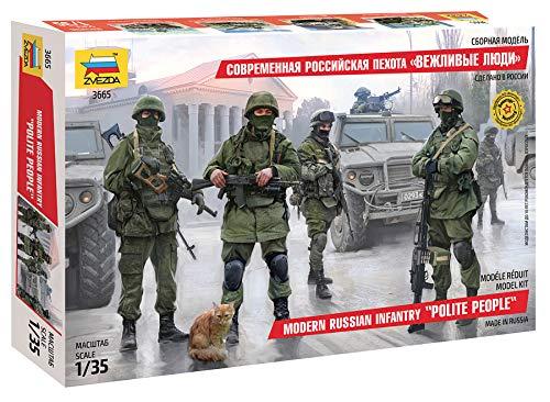 Zvezda 500783665–1: 35Modern Russian Infantry