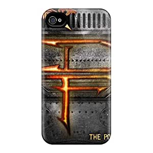 High Quality Mobile Cover For Iphone 4/4s With Custom Fashion Dragonforce Band Pictures MarieFrancePitre