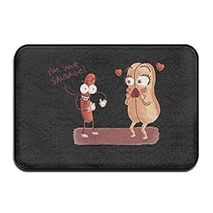 Funny Frank And Brenda Doormat Rug Door Mat