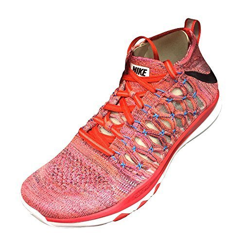 NIKE Train Ultrafast Flyknit Mens Running Trainers 843694 Sneakers Shoes (US 11, Plum Fog Black Total Crimson 500) ()