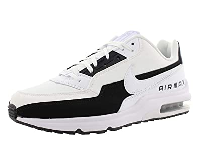 check out 1511c 8a622 Nike Mens Air Max Ltd 3 Premium Sneakers New, White White-Black,