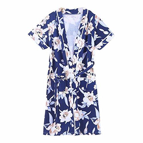 Libing Batas de Verano para Mujer Kimono para Dormir, Foto, XXL: Amazon.es: Ropa y accesorios