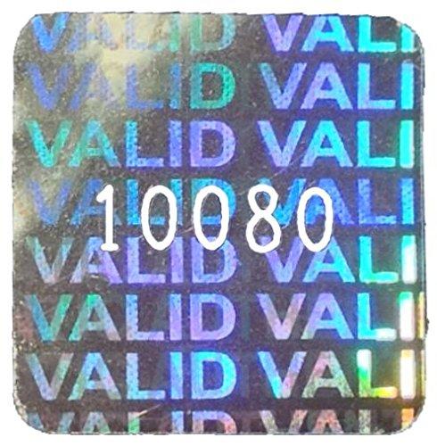 Mittlere 15mm Quadratische Hologramm-Aufkleber NUMMERIERTE, VALID   AUTHENTIC AUTHENTIC AUTHENTIC Flip-Flop, Silber-Aufkleber, Manipulationsgeschütztes, Gültig   Authentisch, Sichern, Garantie, Sicherheit, Hologramm Etiketten, Selbstklebend, Hologramm Aufkleber, Si 30180d