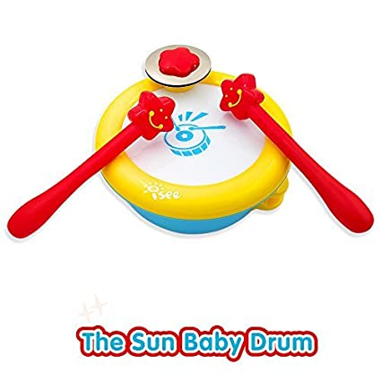 Isee Baby Musical Toys Drum Infant Learning Instrument Toy For 1 2 Year Old Girl