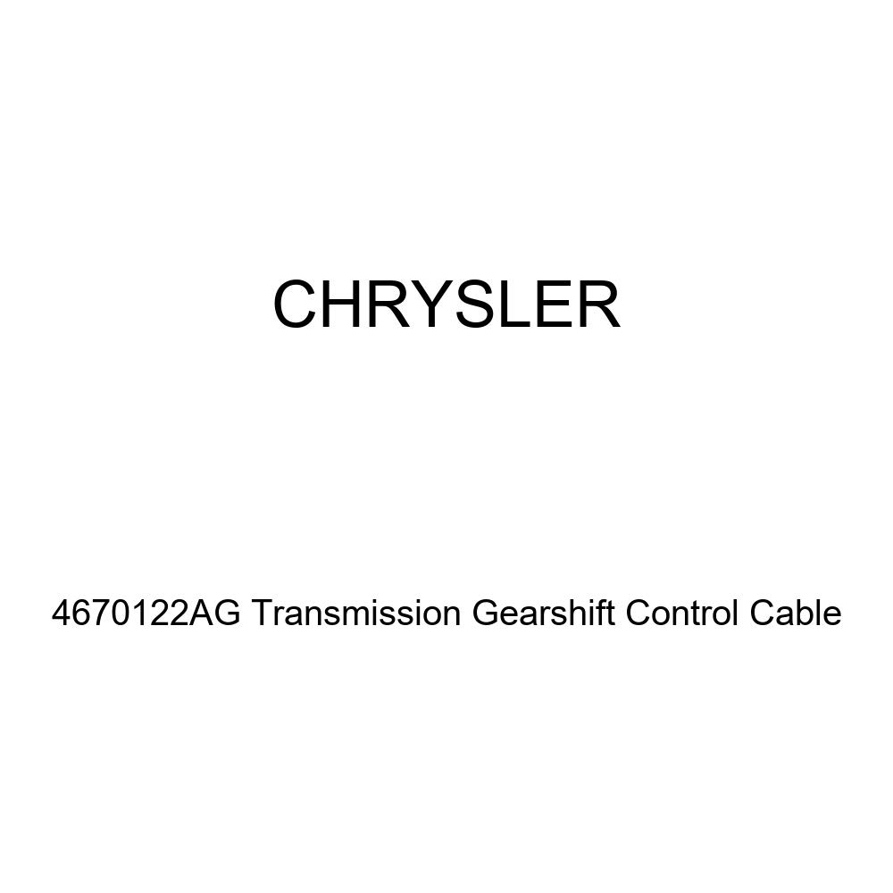 Genuine Chrysler 4670122AG Transmission Gearshift Control Cable