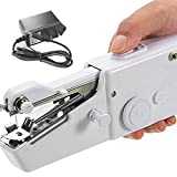 Hand held Sewing Machine NHSUNRAY Portable Quick Stitch Tool,Mini Sewing Machine for Quick Stitch for Fabric, Clothing, or Kids Cloth