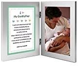 Godfather Gift, Sweet Poem From Godchild for Baptism, Christmas - Add Photo