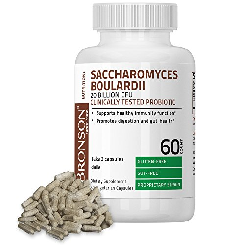 Bronson Saccharomyces Boulardii Clinically Vegetarian