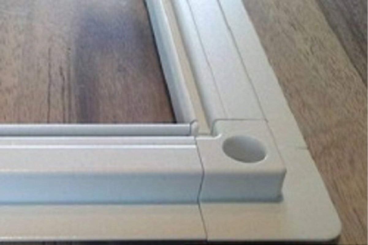 100cm x 150cm, 8 Stk 25mm Winkel Fliegengitter- Fenster- M/ücken- Insektenschutz- Alu- WEISS View optimal f/ür Roll/äden Better